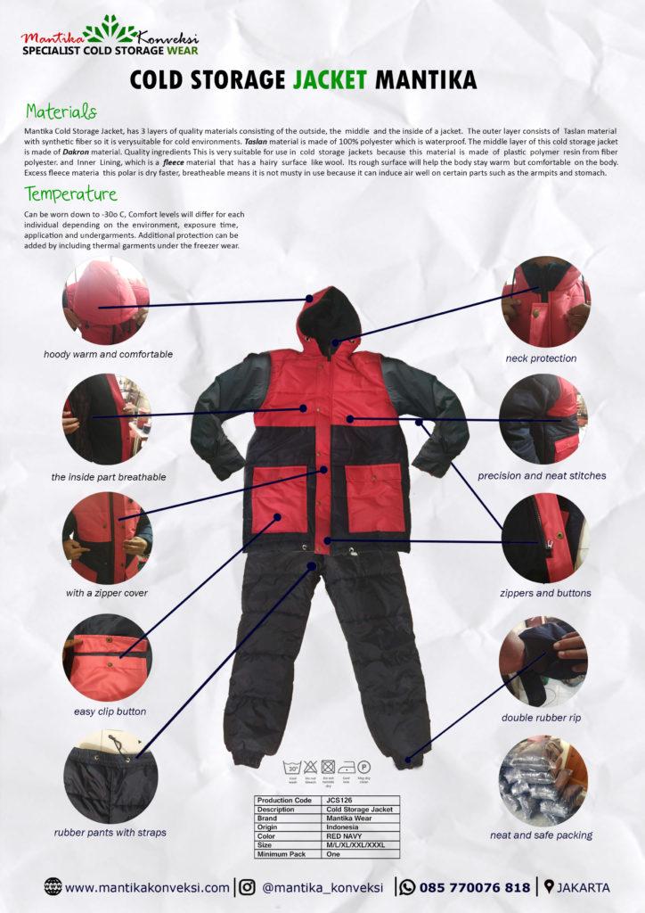 kombinasi warna jaket cold storage