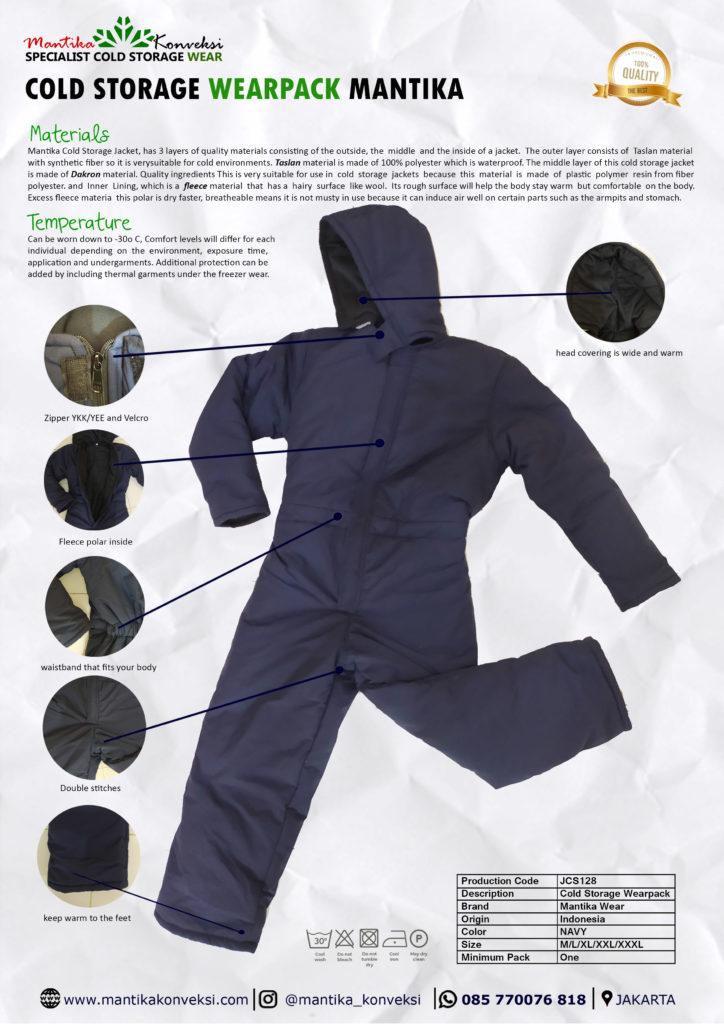 wearpack cold storage