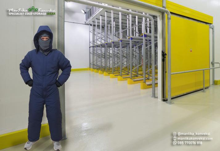 Keunggulan Jaket Cold Storage kemi yaitu memperhatikan kualitas dan keamanan
